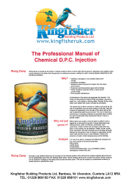 Chemical DPC Injection Manual