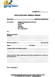 Remedial Seminar Application Form