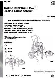210 Sprayer Unit Repair Manual
