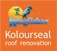 Kingfisher Kolourseal roof restoration / roof renovation
